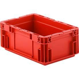 Euro Box Serie MF 3120, aus PP, Inhalt 5,2 L, Unterfassgriff, rot