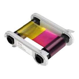 Evolis High Trust YMCKOK Color Ribbon - 1 - Farbe (Cyan, Magenta, Yellow, Resin-Black, klarer Überzug) - Farbband