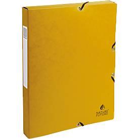 Exabox geel, rugbreedte 25 mm breed
