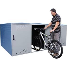 Extension pour garage à vélos BikeBox 1 G avec toit à double pente