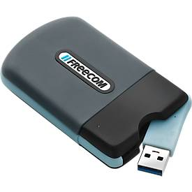 Externe Festplatte Freecom Tough Drive Mini SSD, USB 2.0/3.0, für Windows & Mac, IP 55, mit 128 GB