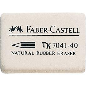 Faber Castell Gomme blanche en caoutchouc