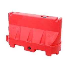 Fahrbahnteiler, UV-stabiles Polyethylen, temperaturbeständig, flexibel gestaltbar, rot