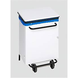 Fahrbarer Hygiene-Pedal-Abfallsammler, 70 Liter