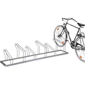 Fahrradparkständer (einseitig), 6 Einstellplätze