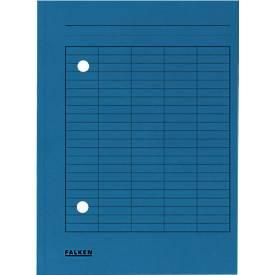 FALKEN circulatiemap, A4, uit gerecycleerd karton, 250 g/m², blauw