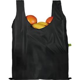 Faltbare Einkaufstasche im Set, inkl. einfarbigem Werbedruck (1-seitig)