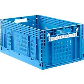 Faltkasten im EURO-Maß ECT 6285, durchbrochene Wände, 55,8 l