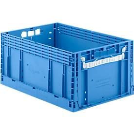 Faltkasten im EURO-Maß ECT 6285 GL, ohne Deckel, 55,8 l, blau
