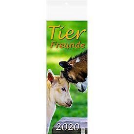 Familienkalender 2020, Format 245 x 345 mm, 5 Spalten, Sinnsprüche & Gedichte, Werbedruck 245 x 40 mm