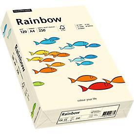 Farbiges Kopierpapier Mondi Rainbow, DIN A4, 120 g/m², hellchamoisgelb, 1 Paket = 250 Blatt