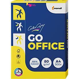 Farblaserpapier Mondi Color Copy GO OFFICE, A4, 80 g/m², hochweiß, 500 Blatt