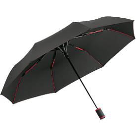 Fare®-AC-Taschenschirm Mini Style, farbige Elemente, Windproof-System, ø 940 mm