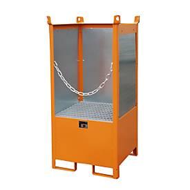 Fass-Stapelpalette (einfach) Orange