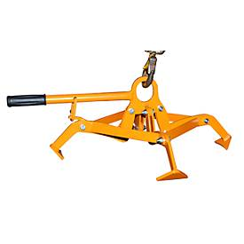Bauer Fassgreifer 4P-D120, 8 kg, orange (RAL 2000)