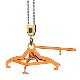 Fassgreifer 4P-D220, 9 kg, orange (RAL 2000)