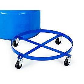 Fassroller für den stehenden Transport von 200-Liter-Stahlblechfässern