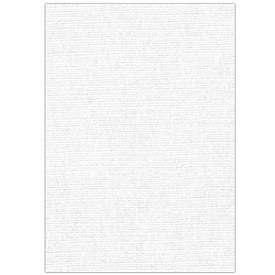 Fellowes Deckblatt Leinen, DIN A4, für Bindemaschinen, 100 Stück, weiss, 250g, 25 Stück