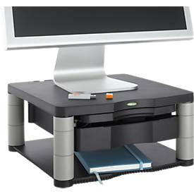 Fellowes Premium Monitor-Ständer Plus, höhenverstellbar, anthrazit/grau
