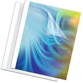 Fellowes Thermobindemappen, Stärke 1,5 bis 6 mm, Bindekapazität 15 Blatt, 100 Stück, weiss, 1,5 mm, 100 Stück