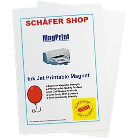 Films magnétiques imprimables, format A4, paquet de 10 pièces