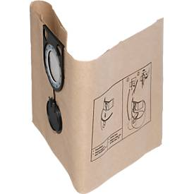 Filterbeutel, Papier, 5 Stück