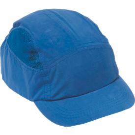 First Base Cap königsblau mit reduziertem Schirm