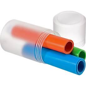 Fitnessband 3er-Set, aus TPE, in drei Stärken, Alternative für Latex-Allergiker