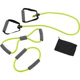 Fitnessbänder-Set Sports Spirits, aus Gummi, 3er Set in verschiedenen Längen