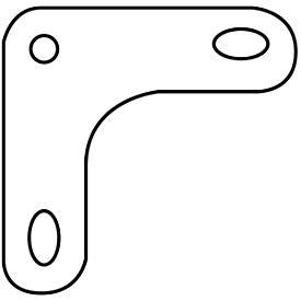 FIX-hoekplaten, verzinkt