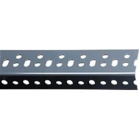 FIX-Profil 2, pulverbeschichtet, grau/sendzimierverzinkt