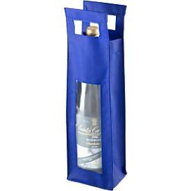 Flaschentasche Single, mit Sichtfenster