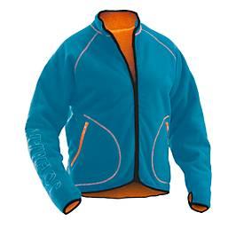 Fleece Jacket Oceanblau/Or L