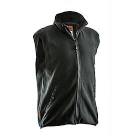 Fleece vest zwart 3XL