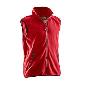 Fleece Weste rot 3XL