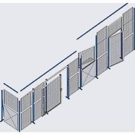 Flügeltür zu Gitterwand 1200 x 2200 mm