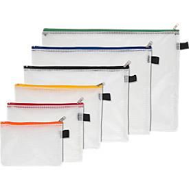 Foldersys Pochettes de collecte à tirette, en assortiment