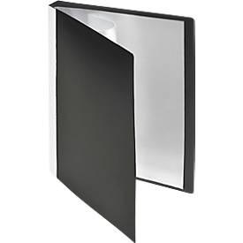 FolderSys PP-Sichtbuch, für DIN A5, 20 Sichthüllen, schwarz