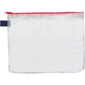 Foldersys Verzendhoesjes met rits, formaat B4, 10 stuks, rood