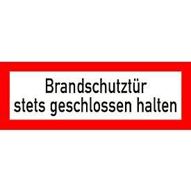 "Folie ""Brandschutztür"""
