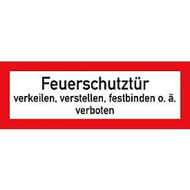"""Folie """"Feuerschutztür"""""""