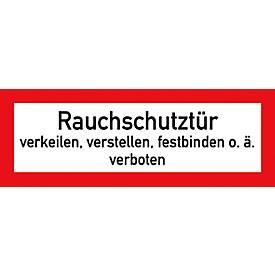 """Folie """"Rauchschutztür"""""""