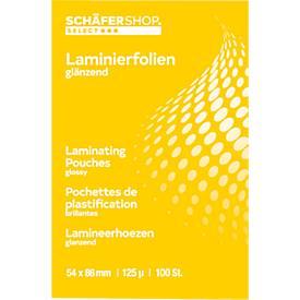 Laminierfolien, DIN A4, 25 Stück, 80 mic.