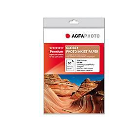 Fotopapier AgfaPhoto Bronze Premium Glossy, 50 Blatt, DIN A4, hochglänzend
