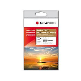 Fotopapier AgfaPhoto Gold Professional High Glossy, 50 Blatt, 10 x 15 cm, hochglänzend