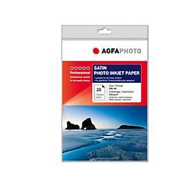Fotopapier AgfaPhoto Gold Professional Satin, 20 Blatt, DIN A4, Satin
