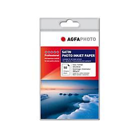 Fotopapier AgfaPhoto Gold Professional Satin, 50 Blatt, 10 x 15 cm, Satin