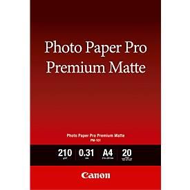 Fotopapier CANON matt, 210g/qm, 20 Blatt, A4