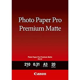 Fotopapier CANON matt, Pro Premium Matte PM-101