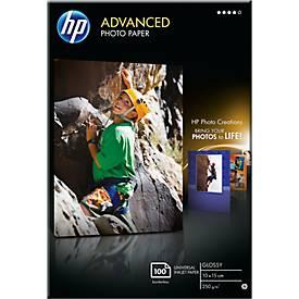 """Fotopapier HP """"Advanced"""", glänzend/seidenmatt"""